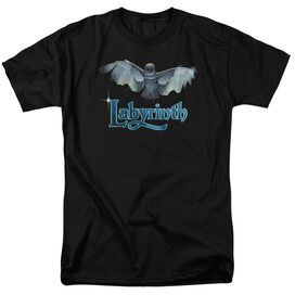 LABYRINTH TITLE SEQUENCE-S/S ADULT 18/1 - BLACK T-Shirt