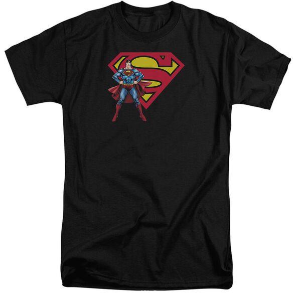 Superman Superman & Logo Short Sleeve Adult Tall T-Shirt