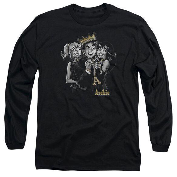 Archie Comics Ladies Man Long Sleeve Adult T-Shirt