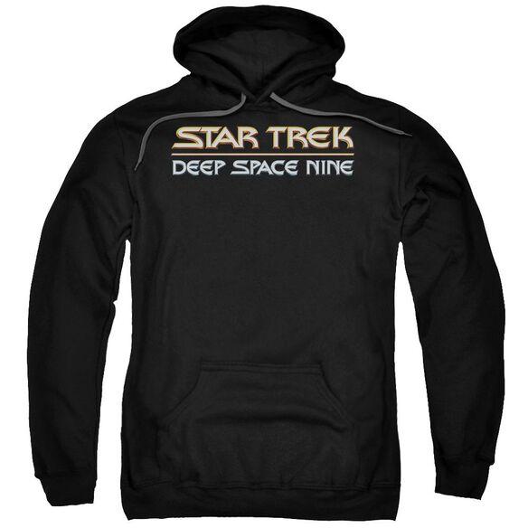 Star Trek Deep Space Nine Logo Adult Pull Over Hoodie