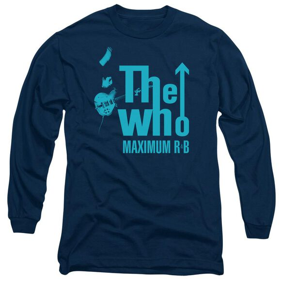 The Who Maximum R&B Long Sleeve Adult T-Shirt