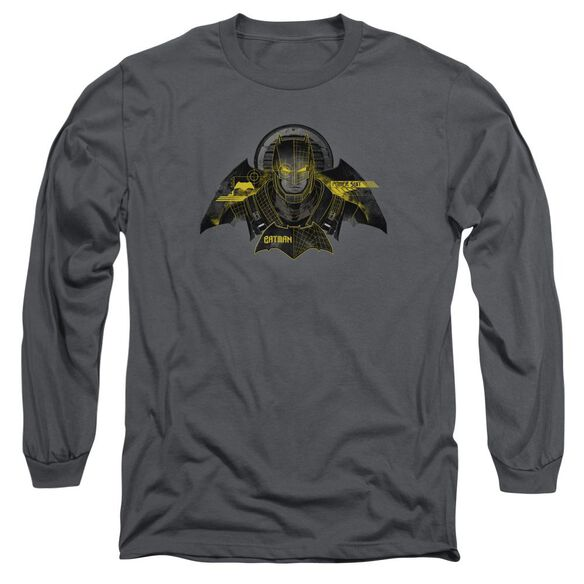 Batman V Superman Batman Tech Long Sleeve Adult T-Shirt