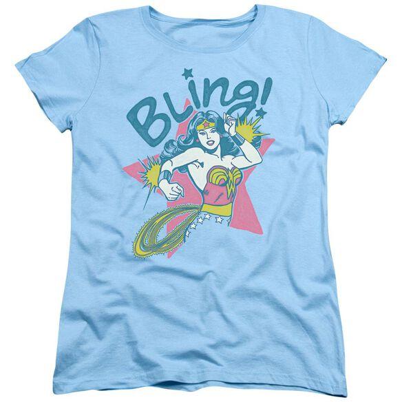 Dc Bling Short Sleeve Womens Tee Light T-Shirt