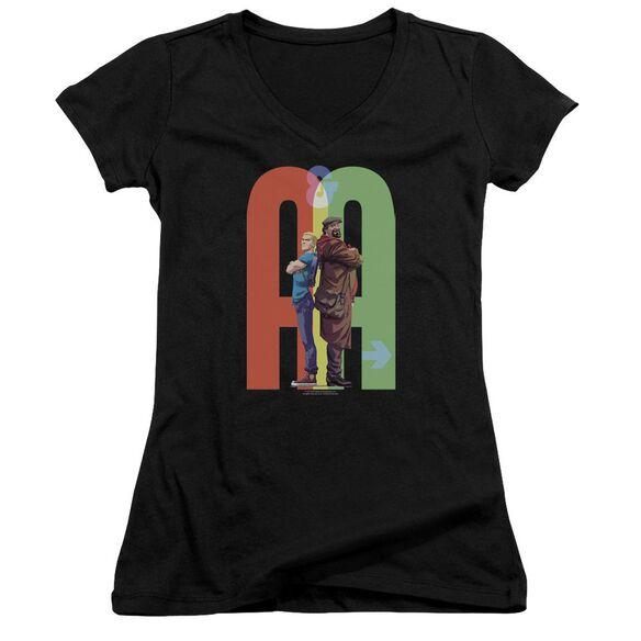 Archer & Armstrong Back To Bak Junior V Neck T-Shirt