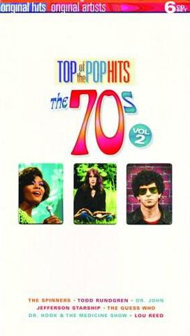 Various Artists - Top of the Pop Hits, Vol. 2: The 70s [Box Set]
