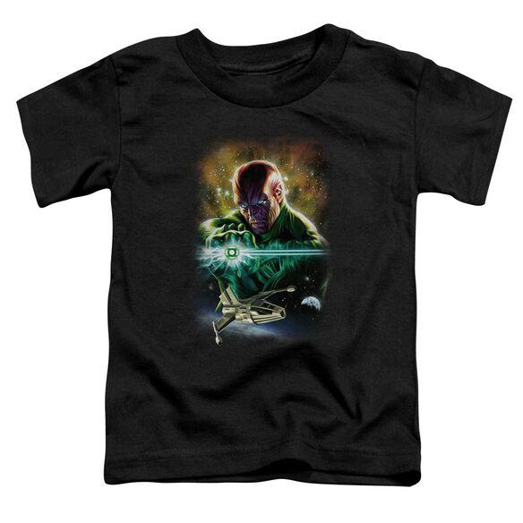 Jla(Gl) Abin Sur Short Sleeve Toddler Tee Black Sm T-Shirt
