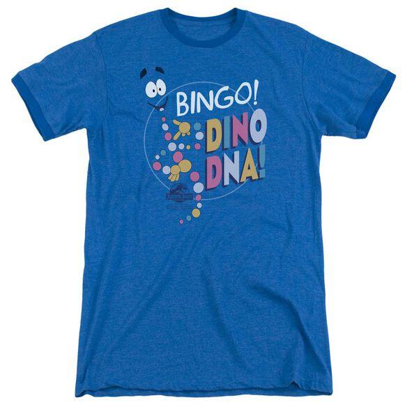 Jurassic Park Bingo Dino Dna Adult Ringer Royal