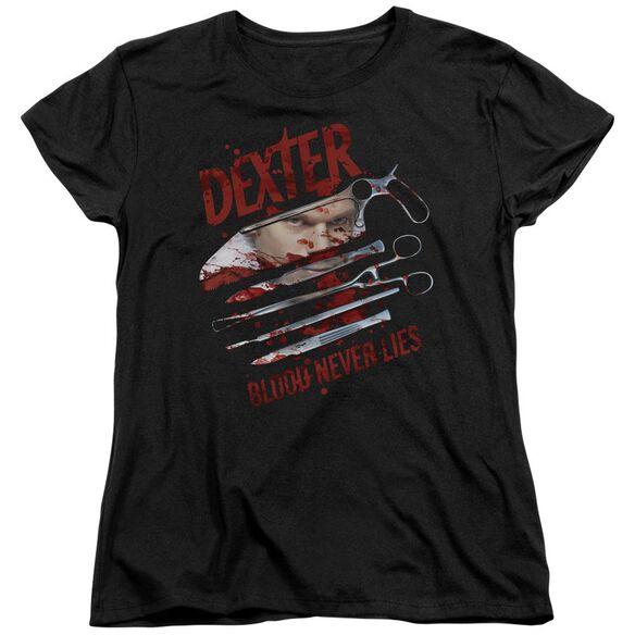 Dexter Blood Never Lies Short Sleeve Womens Tee T-Shirt