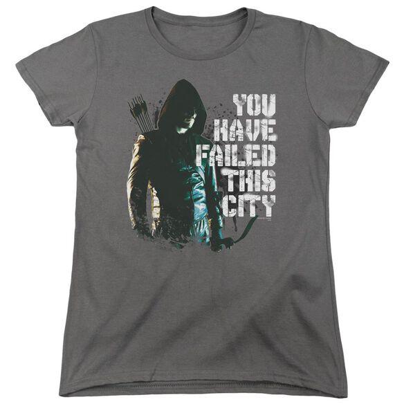 Arrow You Have Failed Short Sleeve Womens Tee T-Shirt