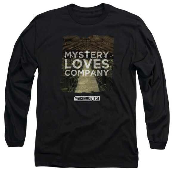 Warehouse 13 Mystery Loves Long Sleeve Adult T-Shirt