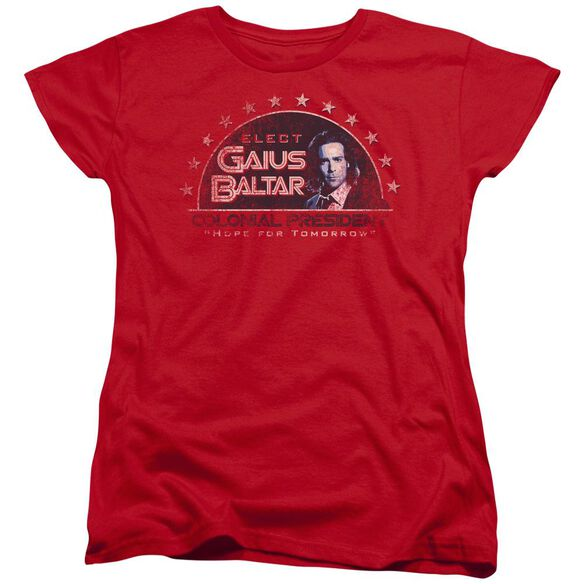 Bsg Elect Gaius Short Sleeve Womens Tee T-Shirt