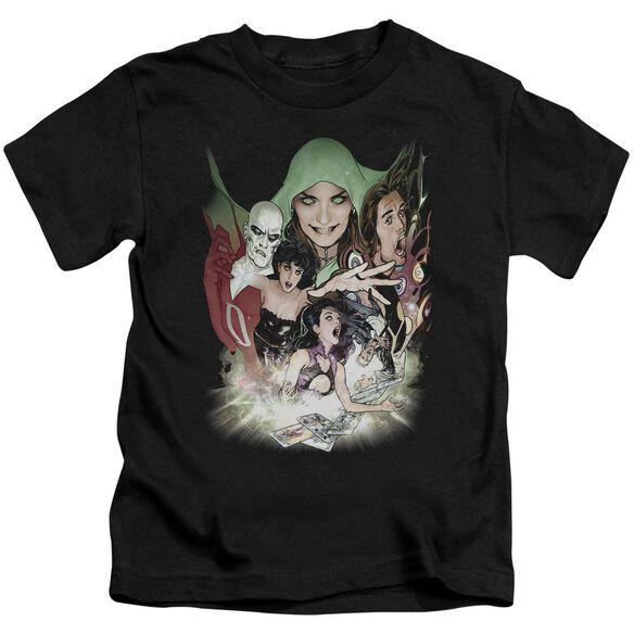 Dcr Justice League Dark Short Sleeve Juvenile Black Md T-Shirt