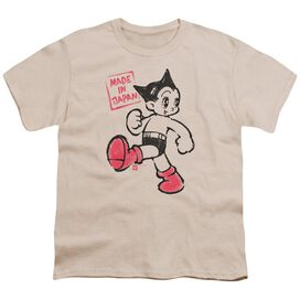 Astro Boy Made In Japan Short Sleeve Youth T-Shirt