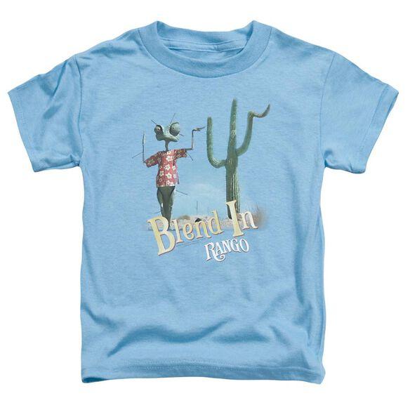 Rango Blend In Short Sleeve Toddler Tee Carolina Blue Md T-Shirt