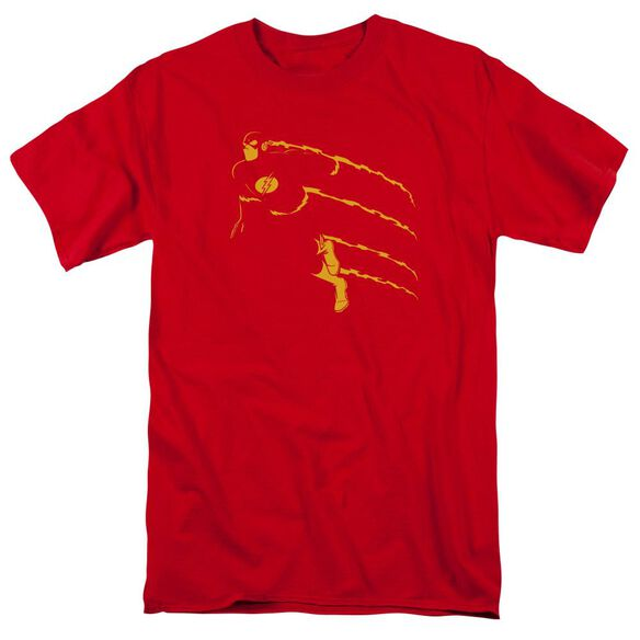 Dc Flash Min Short Sleeve Adult T-Shirt