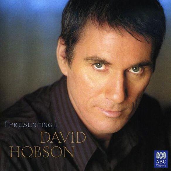 Presenting David Hobson (Aus)