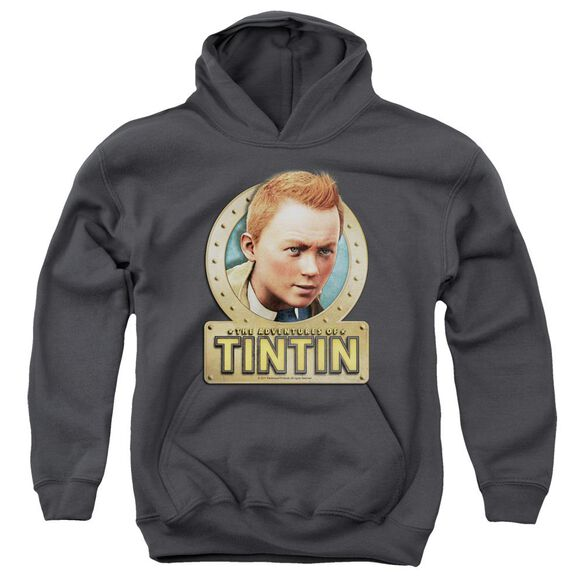 Tintin Metal Youth Pull Over Hoodie