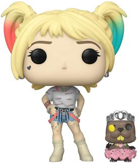 Funko Pop!: Birds of Prey - Harley Quinn [w/ Beaver]