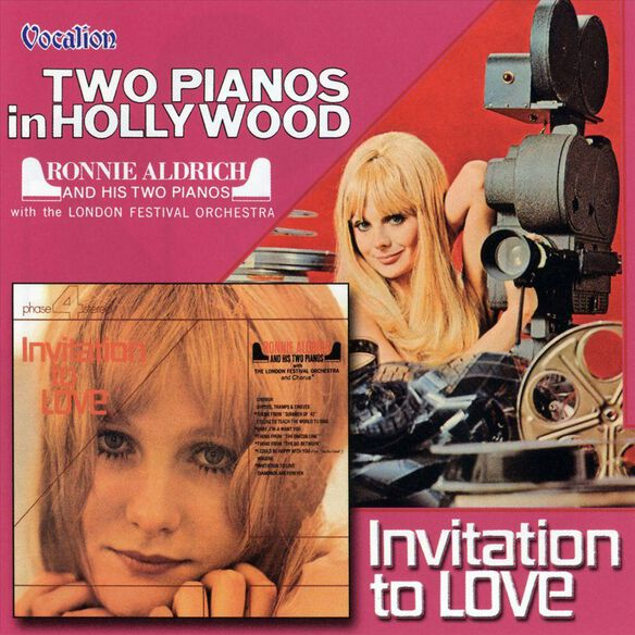 Two Pianos In Hollywood /