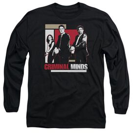CRIMINAL MINDS GUNS DRAWN - L/S ADULT 18/1 - BLACK T-Shirt