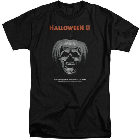 Halloween Ii Pumpkin Poster Short Sleeve Adult Tall T-Shirt
