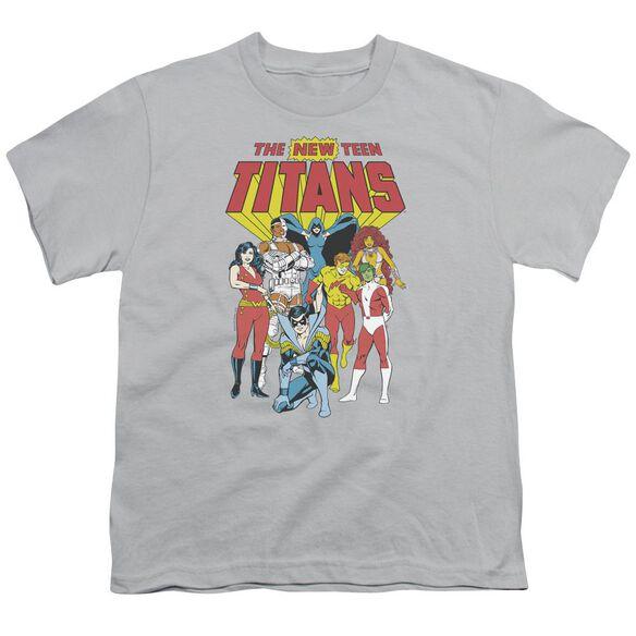 Dc New Teen Titans Short Sleeve Youth T-Shirt