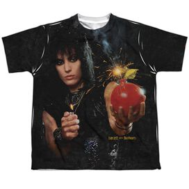 Joan Jett Cherry Bomb Short Sleeve Youth Poly Crew T-Shirt