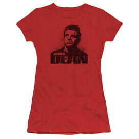 Dean Dean Graffiti Short Sleeve Junior Sheer T-Shirt