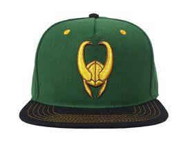 Loki Gold Helmet 3D Hat