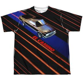 Chevrolet Laser Camino Short Sleeve Youth Poly Crew T-Shirt