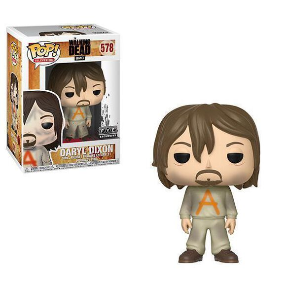 Funko Pop! Television: The Walking Dead - Daryl Dixon Prison Suit