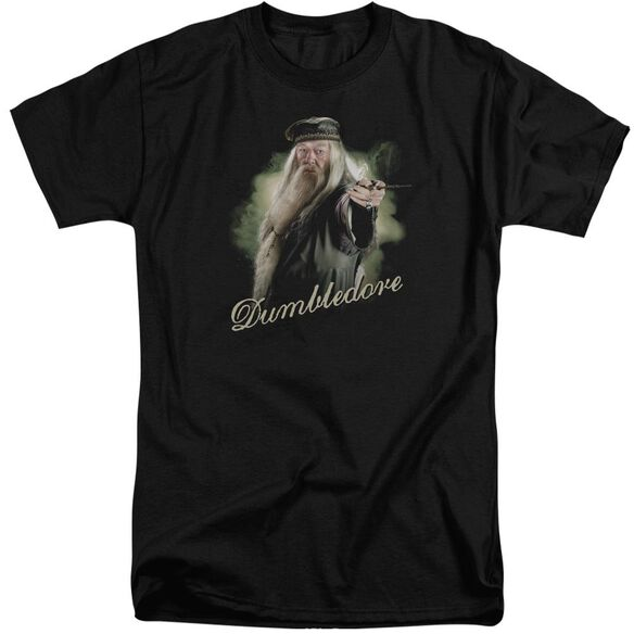 Harry Potter Dumbledore Wand Short Sleeve Adult Tall T-Shirt