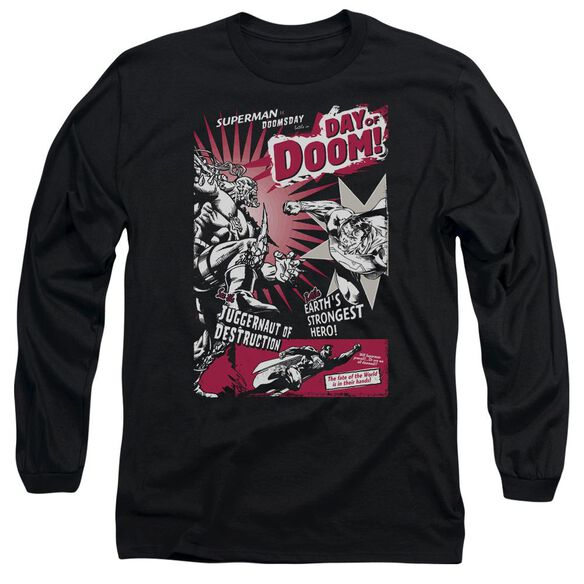 SUPERMAN DAY OF DOOM-L/S T-Shirt