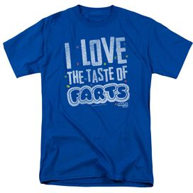 Farts Candy Tasty Farts Short Sleeve Adult Royal Blue T-Shirt