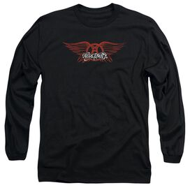 Aerosmith Winged Logo Long Sleeve Adult T-Shirt