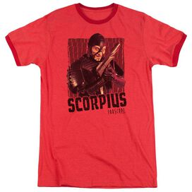 Farscape Scorpius Adult Heather Ringer Red