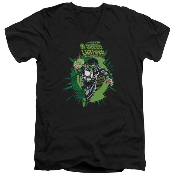 Green Lantern Rayner Cover Short Sleeve Adult V Neck T-Shirt