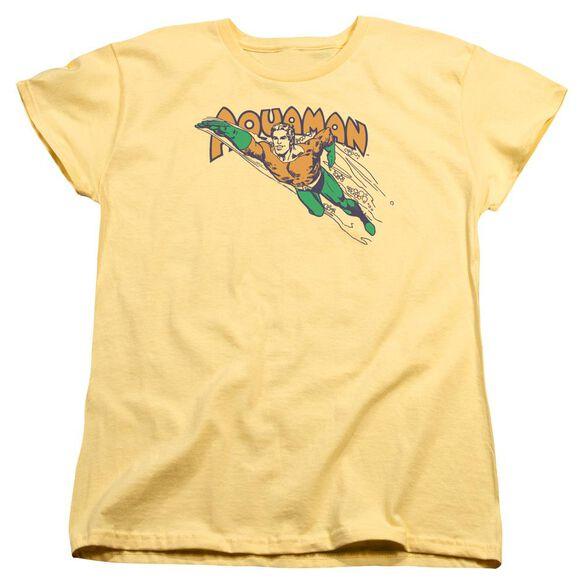 Dc Swim Through Short Sleeve Womens Tee T-Shirt