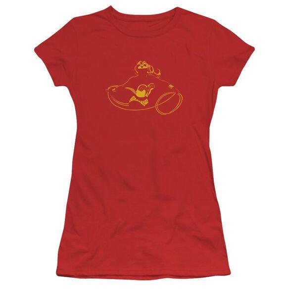 Dc Wonder Min Short Sleeve Junior Sheer T-Shirt