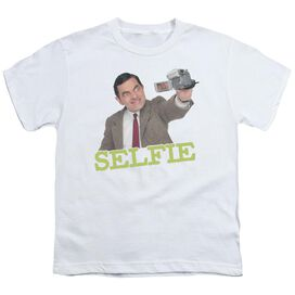Mr Bean Selfie Short Sleeve Youth T-Shirt