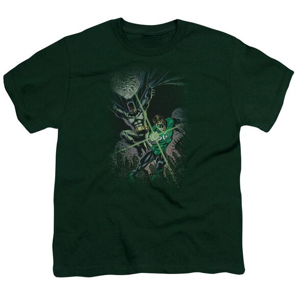 Jla Brave & Bold #1 Short Sleeve Youth Hunter T-Shirt