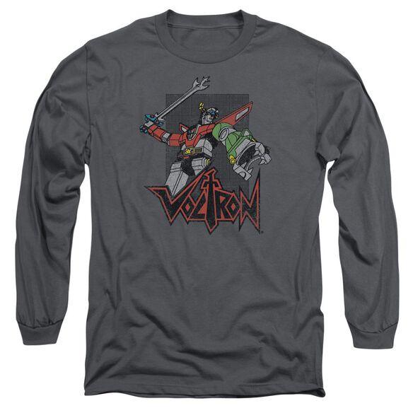 Voltron Roar Long Sleeve Adult T-Shirt