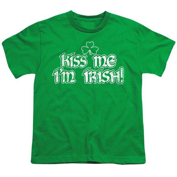 KISS ME IM IRISH- YOUTH T-Shirt