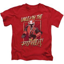 Power Rangers Unleash Short Sleeve Juvenile T-Shirt
