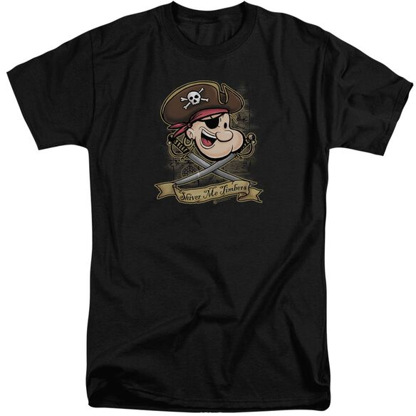 Popeye Shiver Me Timbers Short Sleeve Adult Tall T-Shirt