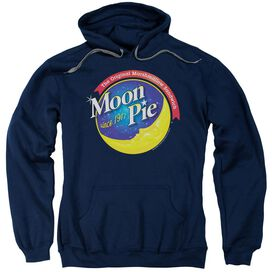 Moon Pie Current Logo Adult Pull Over Hoodie