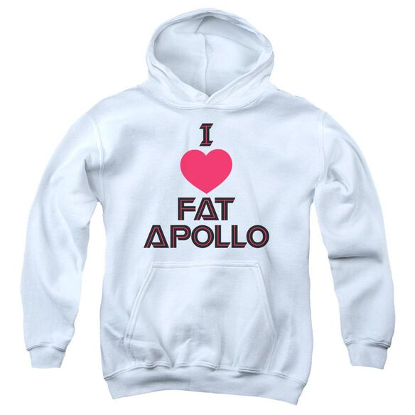 Bsg I Heart Fat Apollo Youth Pull Over Hoodie