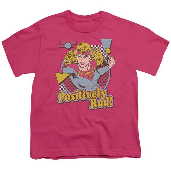 Dc Positively Rad Short Sleeve Youth Hot T-Shirt
