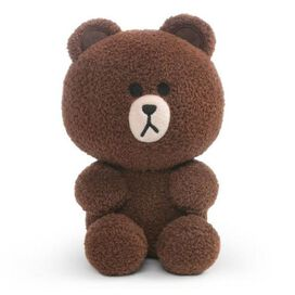 Line Friends Brown Plush [7-Inch tall Seated]