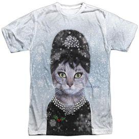Pets Rock Christmas Breakfast Short Sleeve Adult Poly Crew T-Shirt